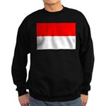 Indonesia Flag Sweatshirt (dark)