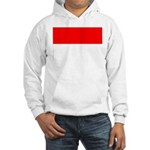 Indonesia Flag Hooded Sweatshirt