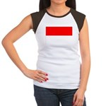 Indonesia Flag Women's Cap Sleeve T-Shirt