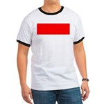 Indonesia Flag Ringer T