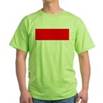 Indonesia Flag Green T-Shirt