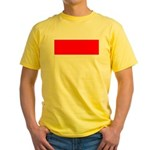 Indonesia Flag Yellow T-Shirt