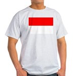 Indonesia Flag Light T-Shirt