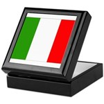 Italy Flag Keepsake Box