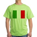 Italy Flag Green T-Shirt