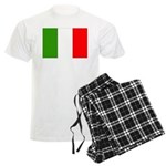 Italy Flag Men's Light Pajamas