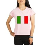 Italy Flag Performance Dry T-Shirt