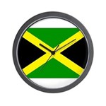 Jamaica Flag Wall Clock
