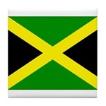 Jamaica Flag Tile Coaster