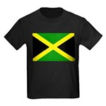 Jamaica Flag Kids Dark T-Shirt