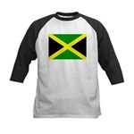 Jamaica Flag Kids Baseball Jersey