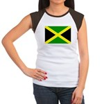 Jamaica Flag Women's Cap Sleeve T-Shirt
