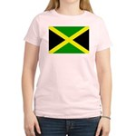 Jamaica Flag Women's Light T-Shirt