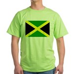 Jamaica Flag Green T-Shirt