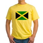Jamaica Flag Yellow T-Shirt