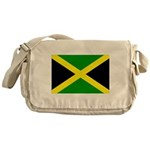 Jamaica Flag Messenger Bag