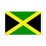 Jamaica Flag Car Magnet 20 x 12