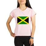 Jamaica Flag Performance Dry T-Shirt