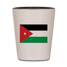 Jordan Flag Shot Glass