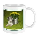 N MrlPup Flowers Mug
