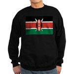 Kenya Flag Sweatshirt (dark)