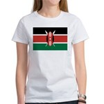 Kenya Flag Women's T-Shirt