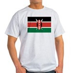 Kenya Flag Light T-Shirt