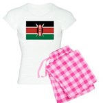 Kenya Flag Women's Light Pajamas