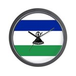 Lesotho Flag Wall Clock