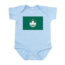 Macau Flag Infant Bodysuit