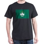 Macau Flag Dark T-Shirt