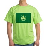 Macau Flag Green T-Shirt