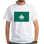 Macau Flag White T-Shirt