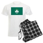 Macau Flag Men's Light Pajamas