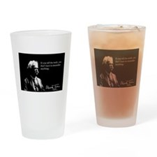 Mark Twain, Tell The Truth, Drinking Glass