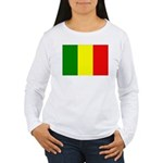 Mali Flag Women's Long Sleeve T-Shirt