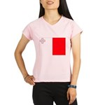 Malta Flag Performance Dry T-Shirt