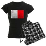 Malta Flag Women's Dark Pajamas