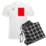 Malta Flag Men's Light Pajamas
