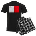 Malta Flag Men's Dark Pajamas