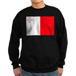 Malta Flag Sweatshirt (dark)
