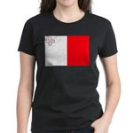 Malta Flag Women's Dark T-Shirt