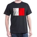 Malta Flag Dark T-Shirt