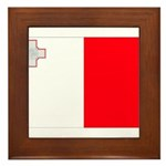 Malta Flag Framed Tile