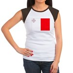 Malta Flag Women's Cap Sleeve T-Shirt