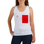 Malta Flag Women's Tank Top