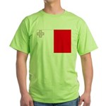 Malta Flag Green T-Shirt