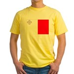 Malta Flag Yellow T-Shirt