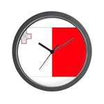 Malta Flag Wall Clock