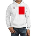 Malta Flag Hooded Sweatshirt